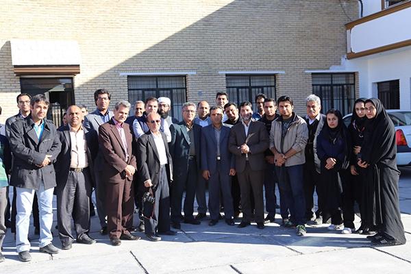 مراسم استقبال اعضای انجمن عکاسی از دکتر بهزاد مریدی